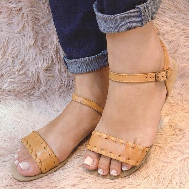 Sandália tira fina