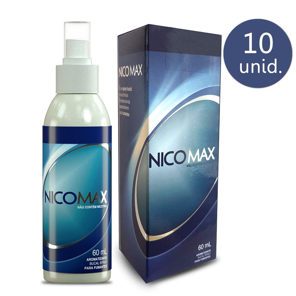 Nicomax Spray Bucal 60ml 10 Frascos