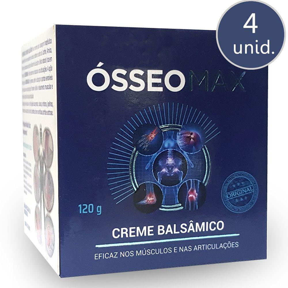 Ósseo Max Creme 120g 4 Potes