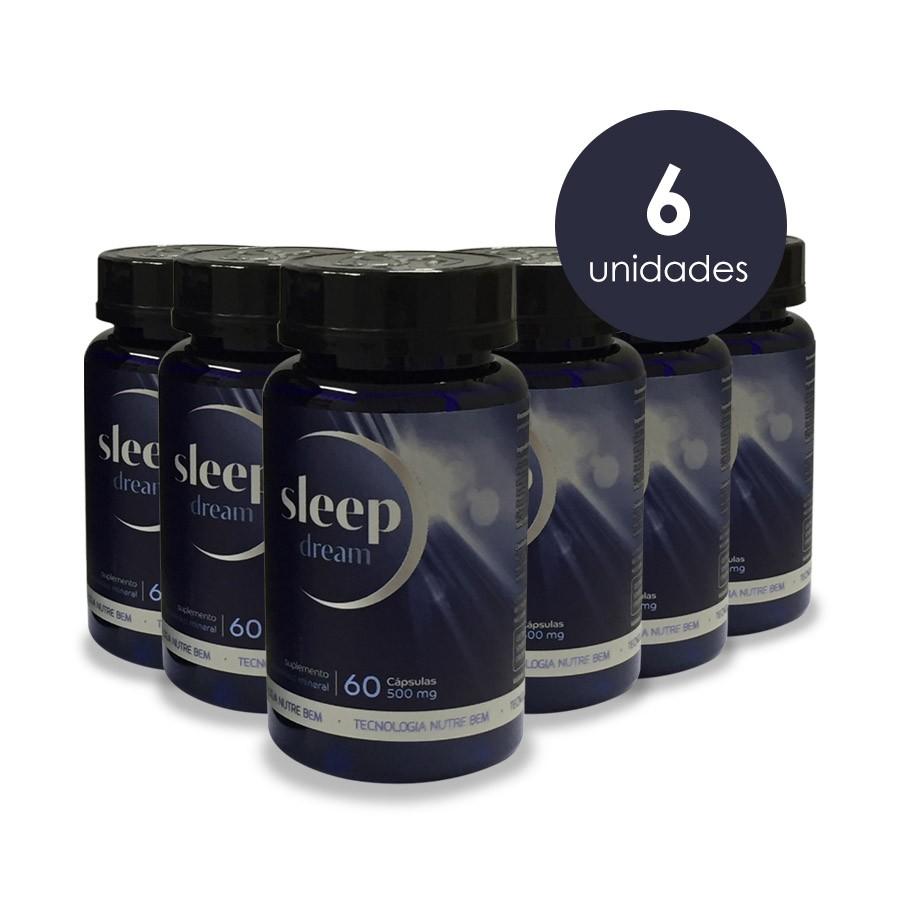 SLEEPDREAM – 6 FRASCOS - FRETE GRÁTIS