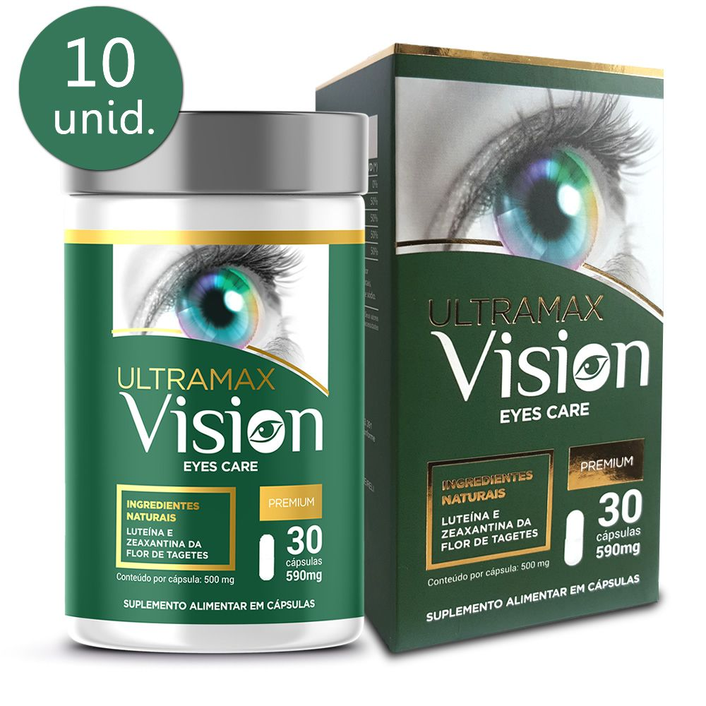 Ultramax Vision 590mg 30 cápsulas 10 frascos