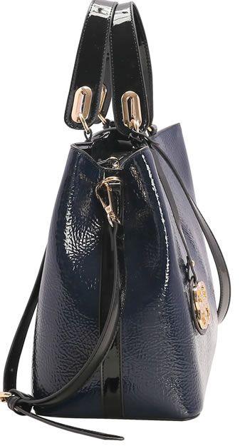 Bolsa feminina Chenson Veniz Azul Marinho com alça de Mão