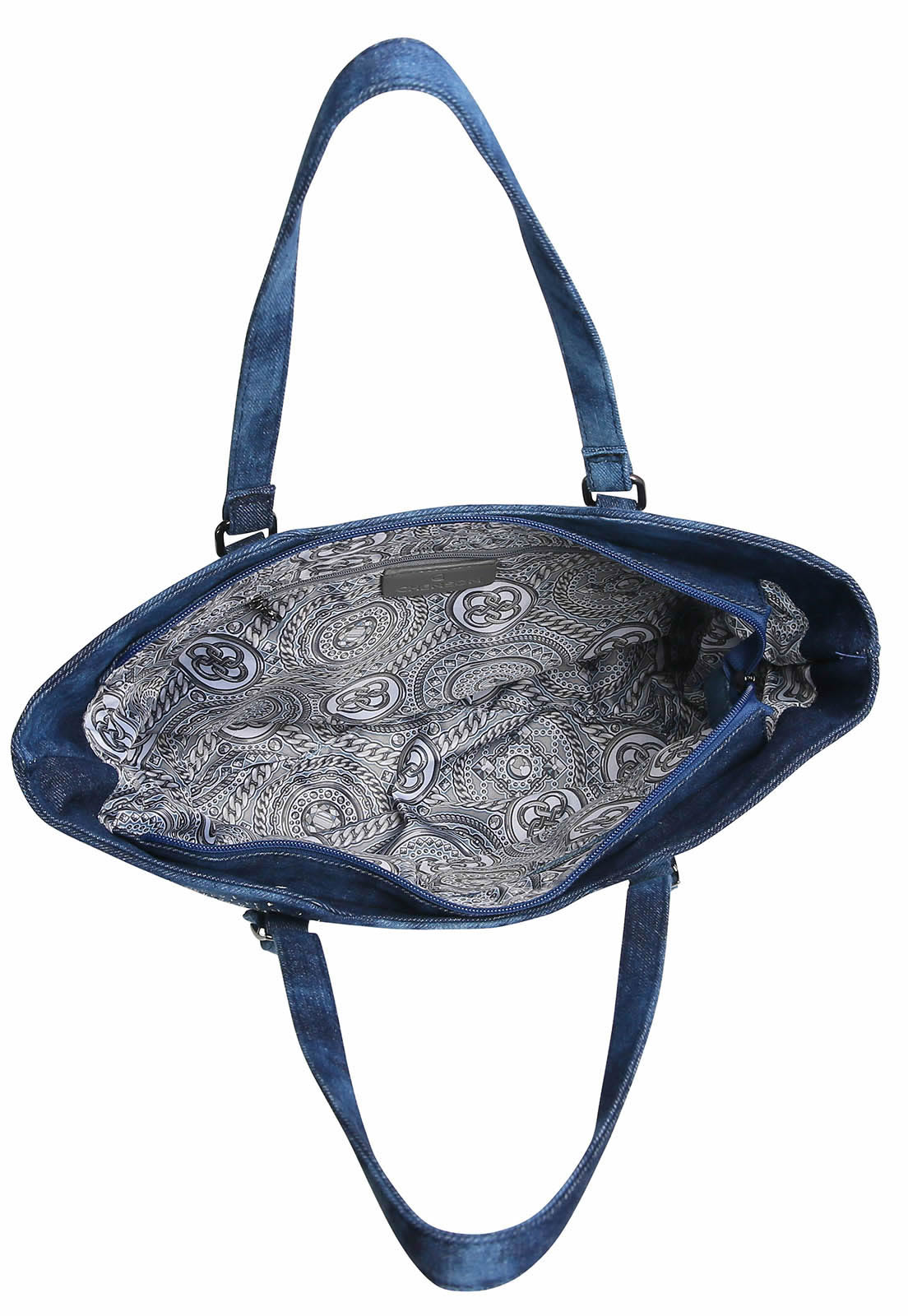 Bolsa Feminina de Ombro Star Jeans Chenson Azul
