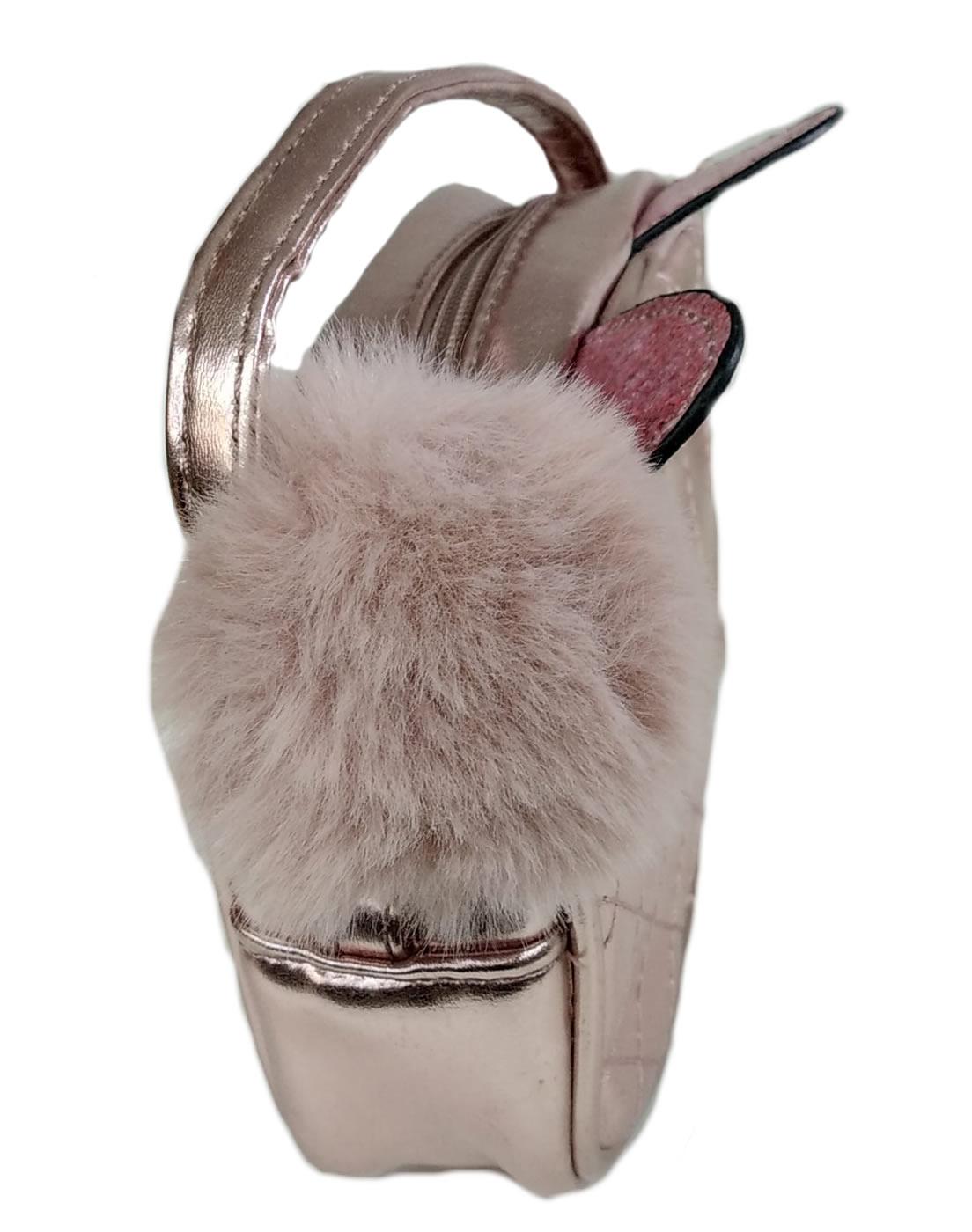 Bolsa Feminina Intantil Transversal Pagani Mini Pink