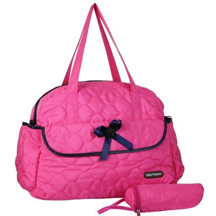 Bolsa Maternidade Baby de Ombro Pink