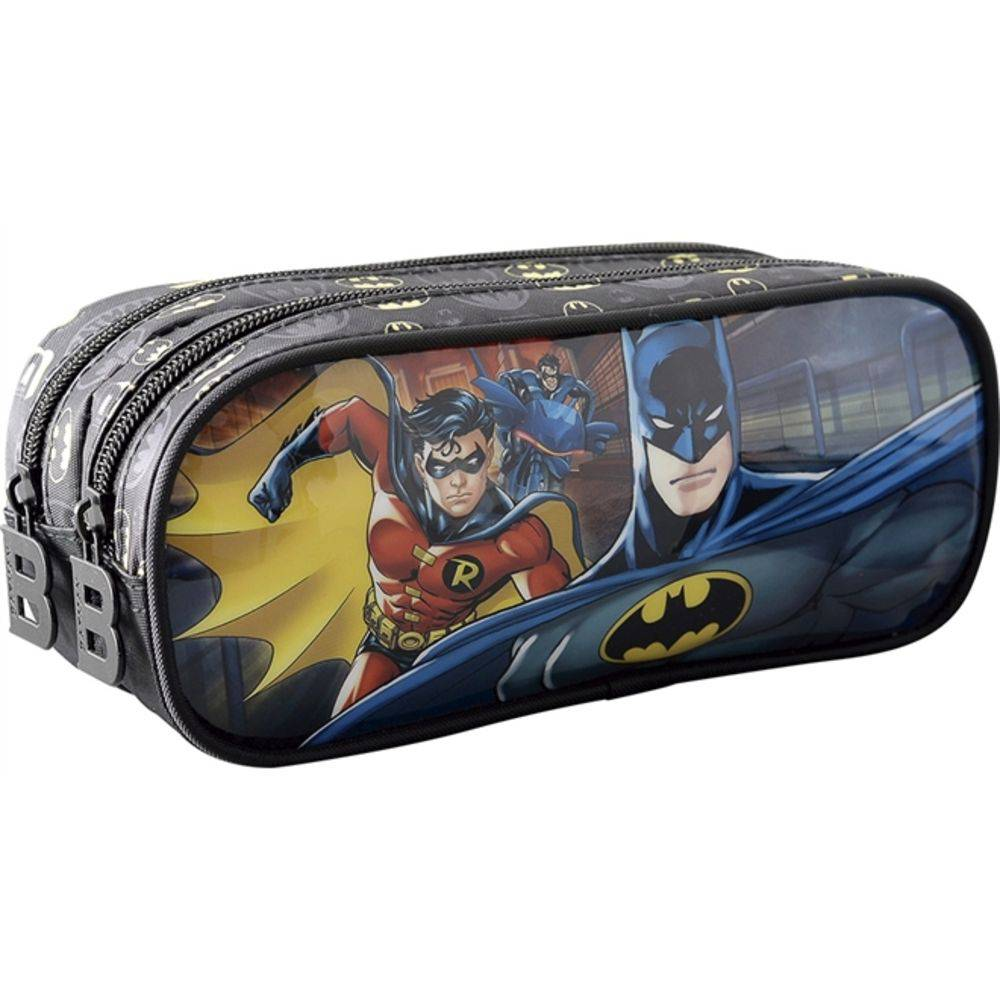 Estojo duplo Batman Bat Squad