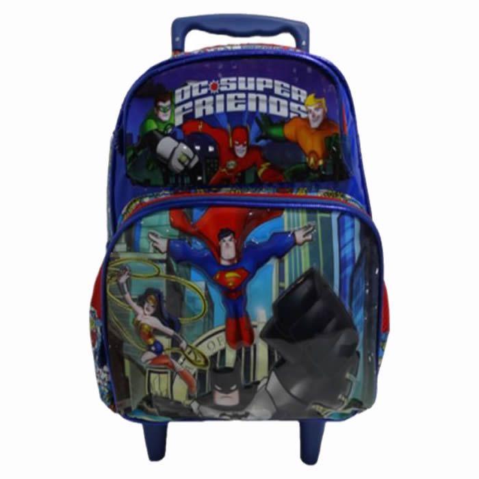 Mochila com rodas DC Super Heroes