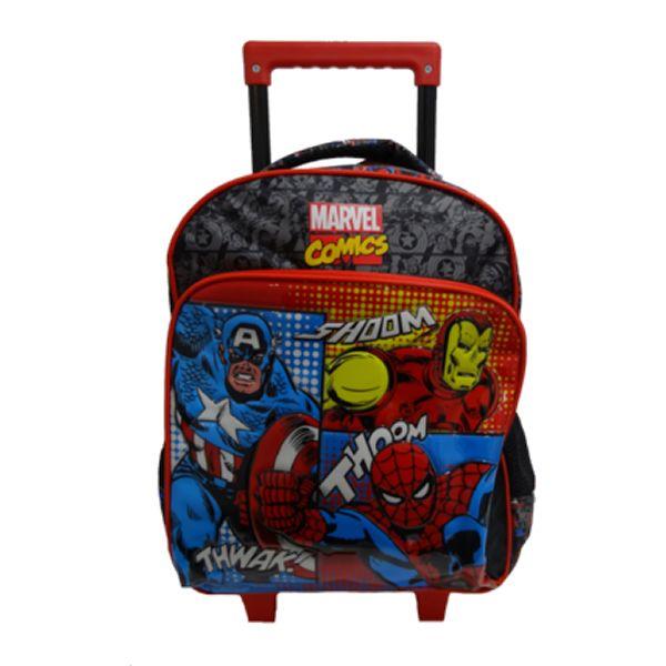 Mala c\ rodas Marvel Comics Universe