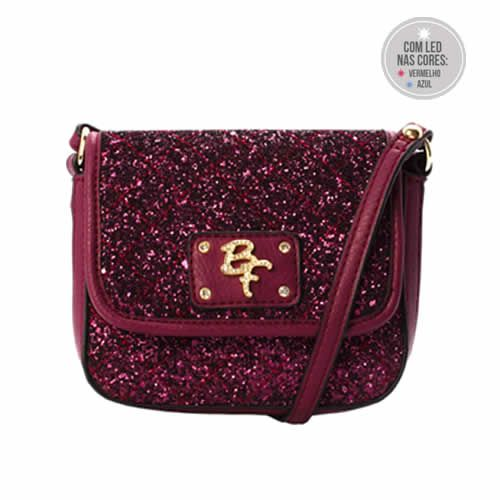 Mini Bolsa Be Forever Pink (Com Led)