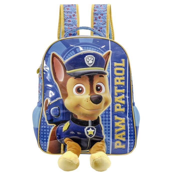 Mochila de Costas Infantil 14 Paw Patrol Fluffy