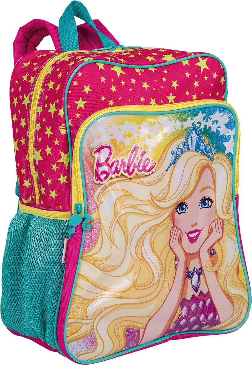 Mochila Barbie de Costas