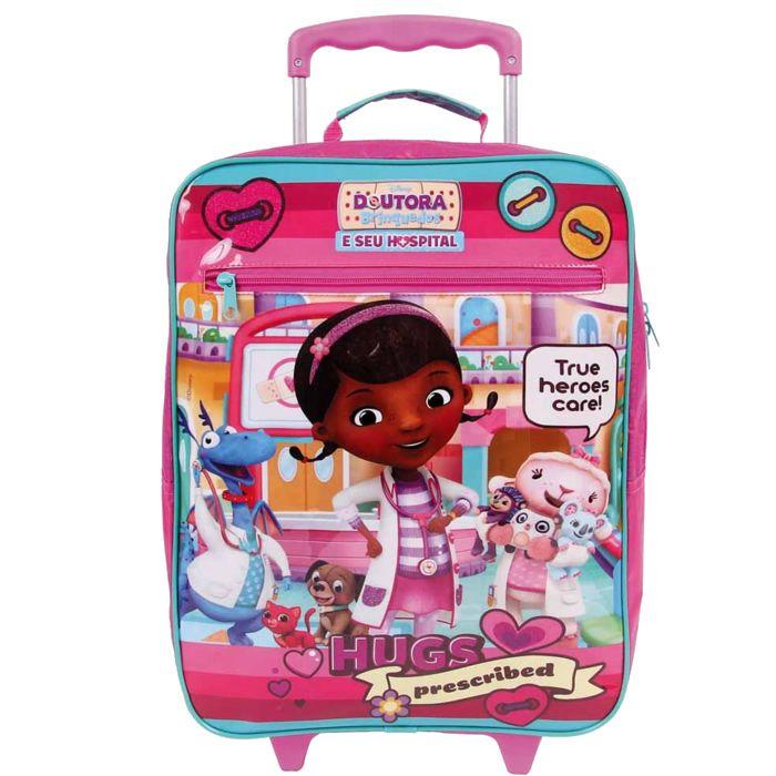 Mochila de rodas Escolar Infantil Doutora Brinquedos
