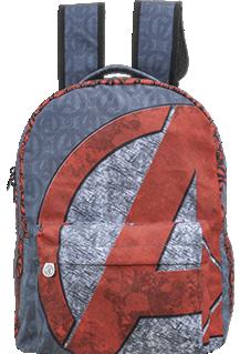 Mochila Escolar  Avengers Teen de Costas