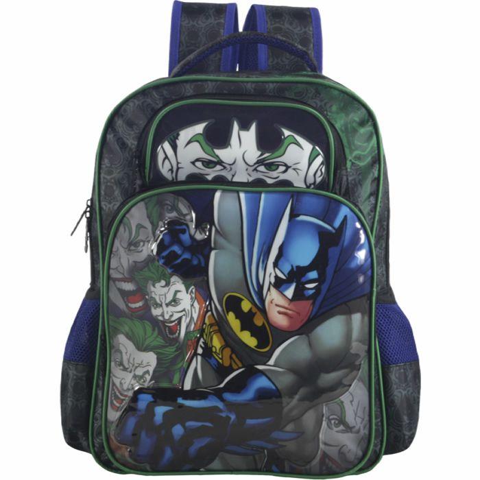 Mochila Escolar Infantil de Costas Batman x Joker