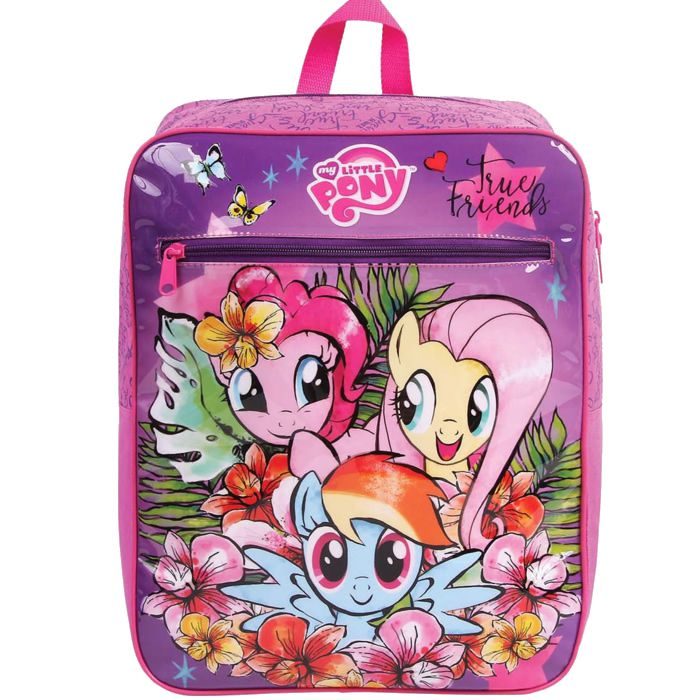 Mochila Escolar Infantil  My Little Pony