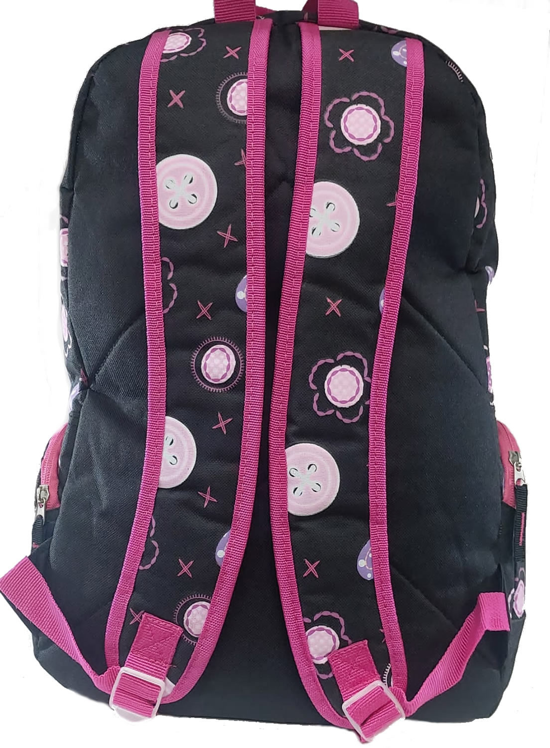 Mochila Feminina de Costas Infantil Teen My Angel SP Express Preto