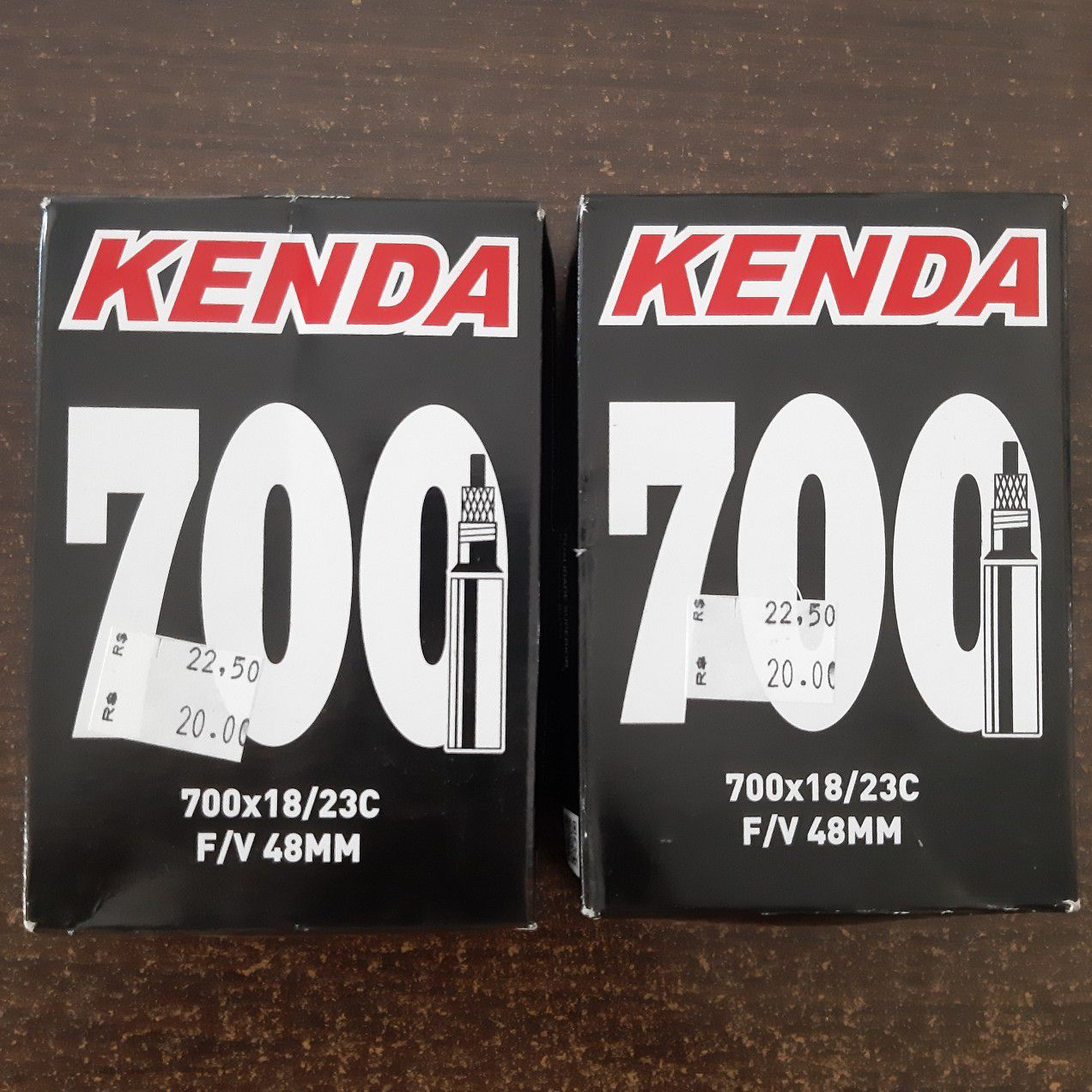 02 un. Câmara de Ar aro 700 Kenda