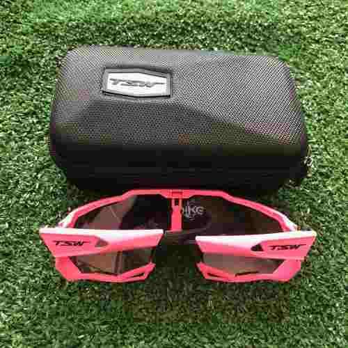 Óculos MTB TSW Cross Pink - 3 Lentes Proteção Uv400