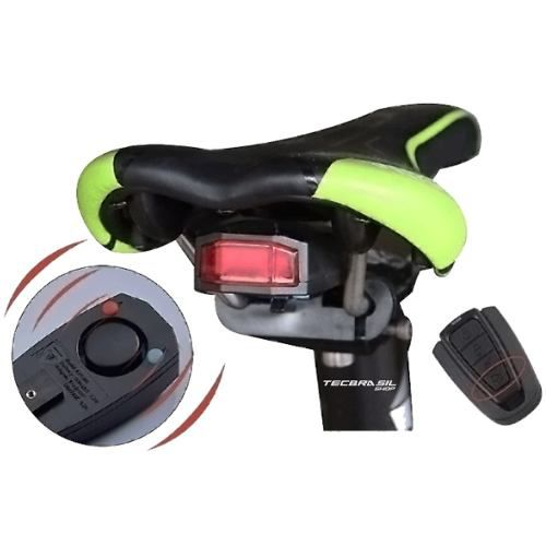 Alarme ANTUSI A6 Para Bike C/ Controle