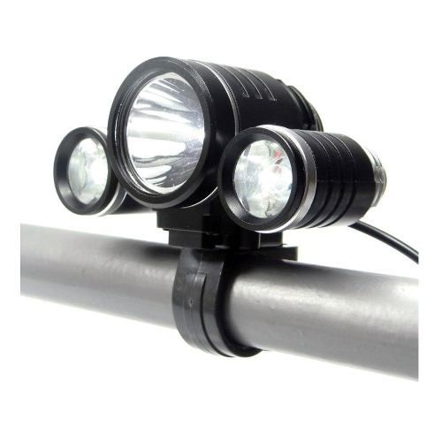 Farol Bike 3 Leds Original JWS-  Ws-913w