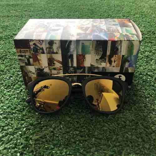 Óculos De Sol HB Moomba Matte Black | Gold Chrome