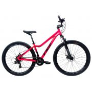 Bicicleta TSW Posh aro 29 2019 - 21v Shimano - Freio a Disco - Pink Fluorescente