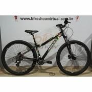 Bicicleta Absolute Mia aro 29 - 14v Shimano Altus - Freio GTA Hidráulico - Suspensão BikeMax c/ trava no ombro