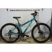 Bicicleta Absolute Mia aro 29 - 21v Shimano Altus - Freio Absolute Hidráulico - Suspensão BikeMax c/ trava no ombro