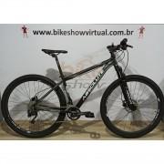 Bicicleta ABSOLUTE Nero aro 29 - 20v STR - Freio Hidráulico Absolute - Suspensão Absolute trava no Guidão
