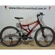 Bicicleta SAMY Aro 26 - 18v Paco - Suspensão BikeMax