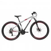 Bicicleta CALOI Supra aro 29 - 21v Shimano Tourney - Freio a Disco - Cinza