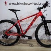 Bicicleta FIRST Active aro 29 - 12v Shimano SLX - K7 Shimano 10/51 dentes - Suspensão ABSOLUTE Tapered a AR