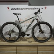 Bicicleta FIRST Smitt aro 29 - 24v MicroShift - Freio GTA Hidráulico - Suspensão GTA trava no ombro