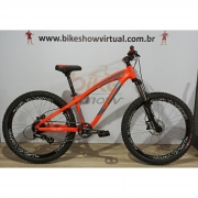 Bicicleta GIOS 4Freaks aro 26 - 8v Shimano Altus - Freio a Disco Hidráulico - Suspensão RST Dirt