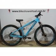 Bicicleta GIOS FRX aro 29 - 9V Sunrace - Freio Hidráulico - Suspensão GTA toda em alumínio
