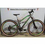 Bicicleta KYLIN Terra aro 29 - 21v MicroShift - Freio a Disco Veloforce - Suspensão High One trava no ombro