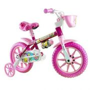 Bicicleta NATHOR aro 12  - Flower