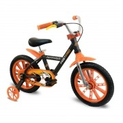 Bicicleta NATHOR First Pro Aluminum aro 14 - Quadro em Alumínio - Freio a Disco Traseiro