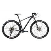 Bicicleta OGGI Big Wheel 7.4 2020 - 12v Shimano SLX - Preto/Grafite/Prata