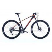 Bicicleta OGGI Agile PRO XT - Preto/Laranja