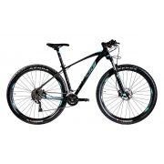 Bicicleta OGGI Big Wheel 7.2 2020 Preto/Grafite/Azul-Tifani
