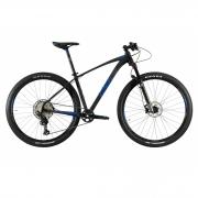 Bicicleta OGGI Big Wheel 7.4 2021 - 12v Shimano SLX - K7 10/51 dentes - Suspensão Manitou Machete a AR - Preto/Grafite/Azul