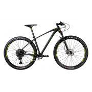 Bicicleta OGGI Big Wheel 7.5 2020 - 12v Sram NX/GX - MELHOR DA CATEGORIA - Preto/Verde/Grafite
