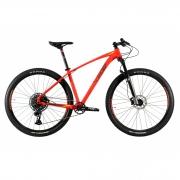 Bicicleta OGGI Big Wheel 7.5 2021 - 12v Sram NX/GX - MELHOR DA CATEGORIA - Vermelho/Preto/Amarelo