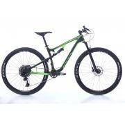 Bicicleta OGGI Cattura Pro GX - Preto/Verde