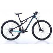 Bicicleta OGGI Cattura Pro XT - Preto/Azul Acqua