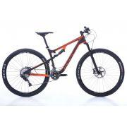 Bicicleta OGGI Cattura Pro XT - Preto/Laranja