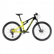 Bicicleta OGGI Cattura Sport 2021 aro 29 - 12V Shimano Deore - Freio Shimano Hidráulico - Suspensão Manitou - Amarela