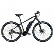Bicicleta OGGI E-Bike Big Wheel 8.3 2020 - Shimano E6100 - Preto/Amarelo - A MELHOR DA CATEGORIA