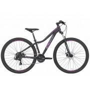 Bicicleta OGGI Float Sport - 21v Shimano Tourney - Freio a Disco Mecânico - Preto/Uva